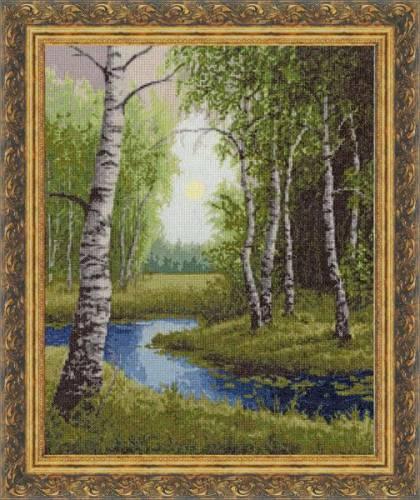Пейзаж для вышивки крестом