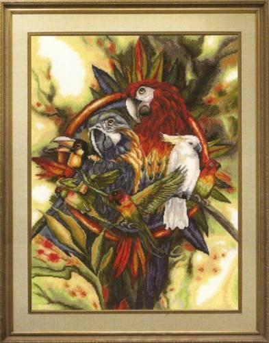 Попугаи | Просмотров: 299
