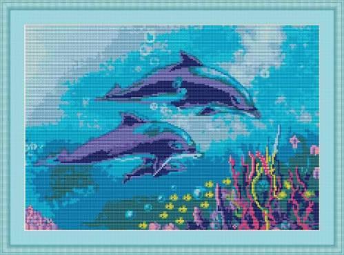 Дельфины | Просмотров: 443