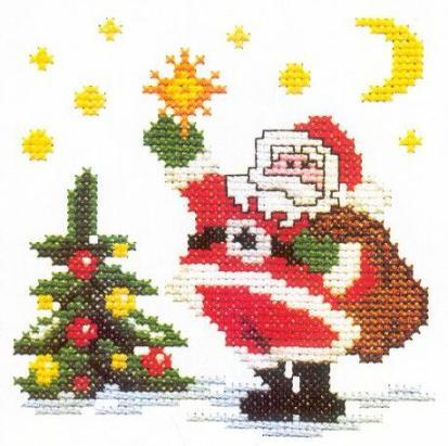 Новый год: Дед Мороз и Санта