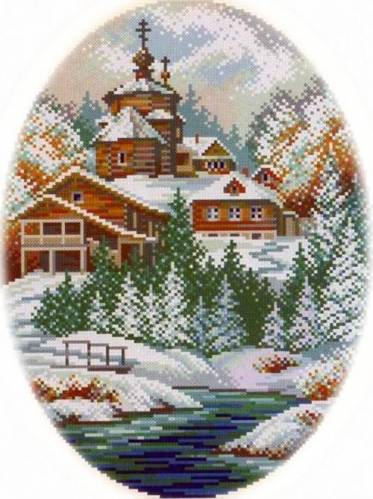Пейзаж зимний | Просмотров: